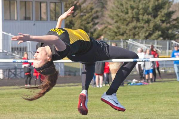 Pellston senior Tayler Friend has twice finished Division IV state runner-up in the high jump, and third another time.