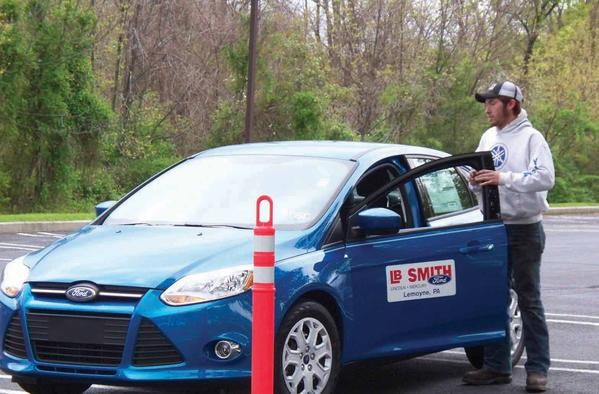 James Buchanan High School student Wesley Sword recently took third place at a safe driving competition for young drivers from Cumberland and Franklin counties. Sword, a junior, will serve as an alternate candidate for a statewide competition.