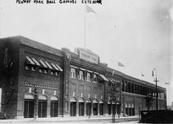 Fenway in 1912. All these years later, it is still standing.