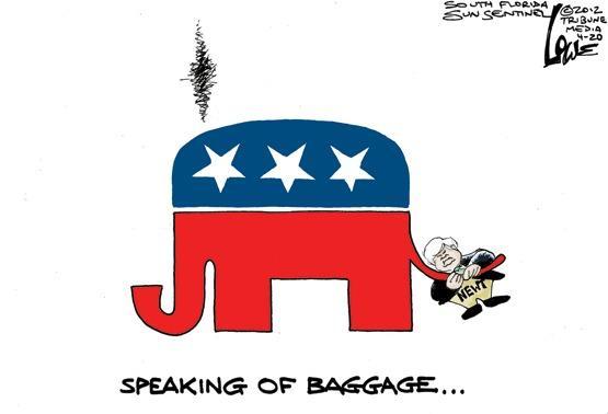 Newt Gingrich hangs on