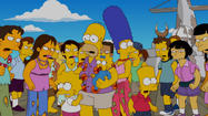 "Over the years, ""The Simpsons""on Fox has engaged a few Broadway talents in guest spots -- Stephen Sondheim, David Mamet and Mandy Patinkin all have put it vocal cameos. The series even paid tribute to Bob Fosse in a few episodes, with an obnoxious choreographer character named Chazz Busby."