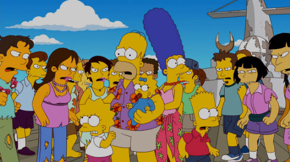 "A scene from the upcoming episode of ""The Simpsons"" on Fox."