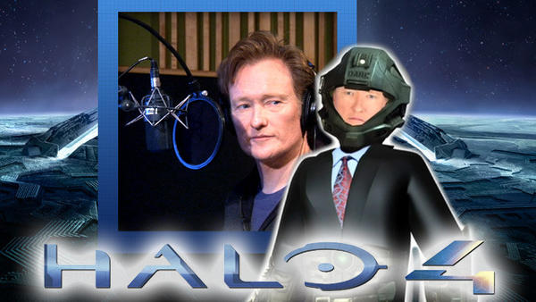 "Conan O'Brien announced the release date 'Halo 4' on his show this week, although the late night host admitted he is ""not a gamesman."""