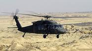 A Black Hawk helicopter crashed Thursday in southern Afghanistan, likely killing all four of its American crew members,a U.S. military official said.