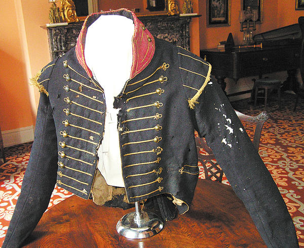 Sgt. Jacob Huyett served in a cavalry unit known as the Hagerstown Blues, a unit of the Maryland Light Dragoons under Lt. Col. Frisby Tilghman. His jacket is part of the Washington County Historical Society's collection of Antietam artifacts of the personal collection of Sharpsburg educator John Philemon Smith.