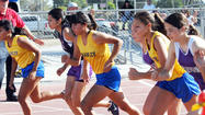 BRAWLEY – With both the Brawley Union and Southwest highs girls' track and field teams being undefeated in Imperial Valley League action, Thursday's meet here was expected to be a close one and it was.