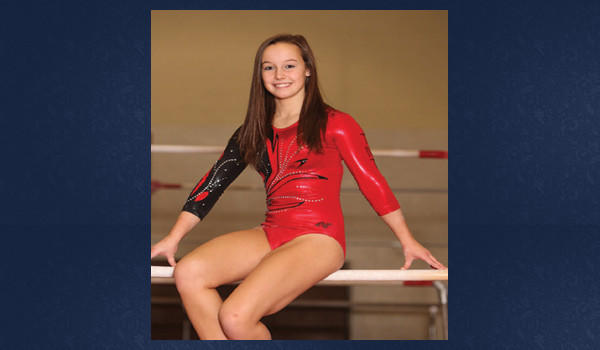 Kaitlyne Brandau has earned a scholarship to Ursinus College. Brandau has been training at TNT Gymnastics in Richland Township since she was 3 years old.