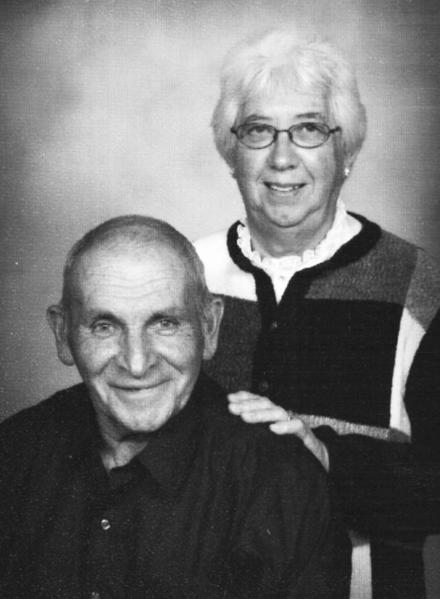 Mr. and Mrs. Harold Johnecheck, 2012
