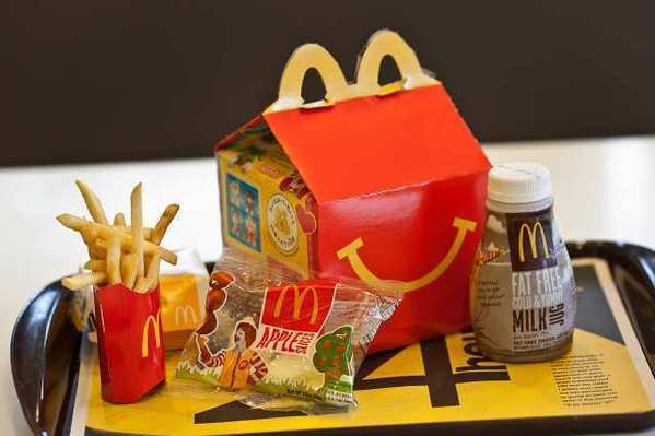 McDonald's Corp., the world's largest hamburger chain, said its profit increased in the first quarter.
