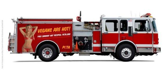 PETA's proposal for Baltimore fire trucks