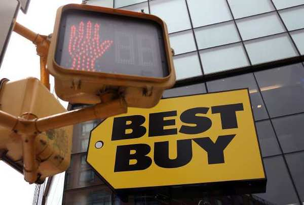 A Best Buy store in New York City. The electronics retailer has selected a search squad to find former CEO Brian Dunn's replacement.