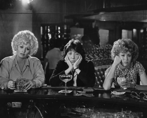 <b>The evil boss:</b> Franklin Hart Jr. (Dabney Coleman)<br> <br> <b>The miserable employees</b> Doralee Rhodes (Dolly Parton, left), Violet Newstead (Lily Tomlin) and Judy Brenly (Jane Fonda )<br> <br> <b>The vile task:</b> Where to begin? Doralee, Violet and Judy are disrespected daily. Franklin Hart is an incompetent leader, especially compared to Violet, and he spends his days making unwanted and inappropriate advances toward Doralee, even going so far as to lie about having an affair with her. Violet is soon passed over for a promotion, with Franklin stealing her ideas and telling her a man could do her job better.<br> <br> <b>Why they don't quit:</b> Gotta make a livin'. And the women have to try to pull off a crazy scheme that involves rat poison.