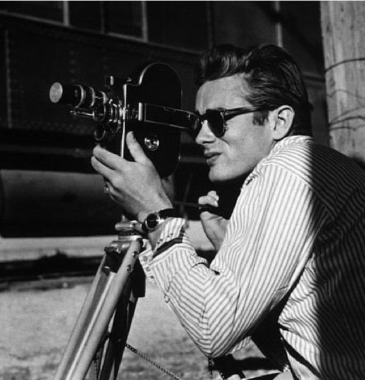 Celebrities' stylish sunglasses: James Deans signature RayBan Wayfarers were featured in many an iconic photograph of the late actor.