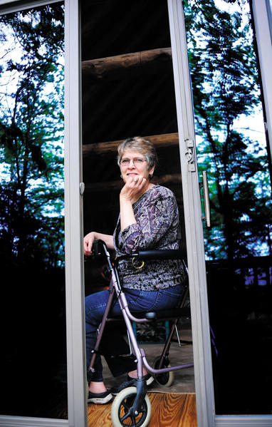 Jennifer Bain, 59, was diagnosed with multiple sclerosis in 1989. She is this year's ambassador for Walk MS at Antietam National Battlefield.