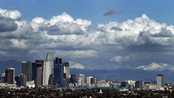 "Like the clouds approaching downtown Los Angeles, new ""cloud computing"" services are on their way."