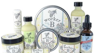 Beauty products made with natural ingredients