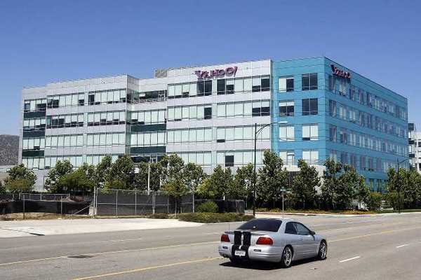 The Yahoo office on Empire Avenue in Burbank plans to cut 65 jobs.