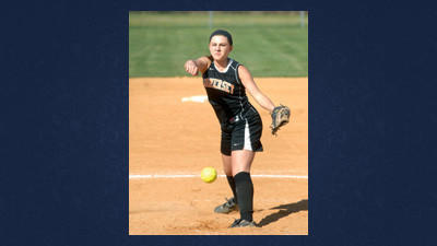 Somerset's Sydney Geary went five innings for the Lady Eagles' win at home on Friday.