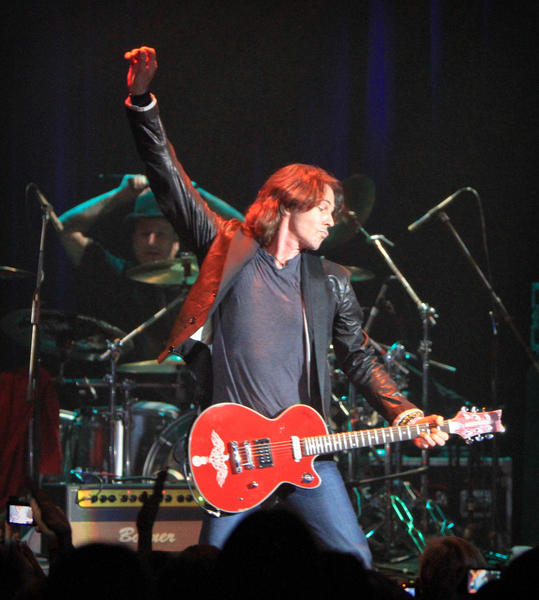 Rick Springfield performs at The Plaza Live in Orlando, Fla. on Friday, April 20, 2012.