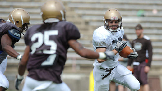 Five Questions Going Into Lehigh's Brown-White Game In 2015