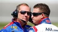 Allmendinger overcomes late draw for Cup pole at Kansas