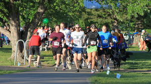 Dogs race to raise funds: 2nd Annual Dog-N-Jog