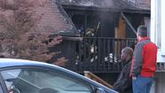 The homes of at least three Anchorage families were destroyed after a blaze broke out at a fourplex on Briarwood Street early Saturday morning.