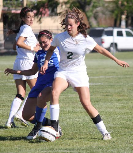 Bishop Carroll used four second half goals to cruise past rival Kapaun Mt. Carmel 5-0.