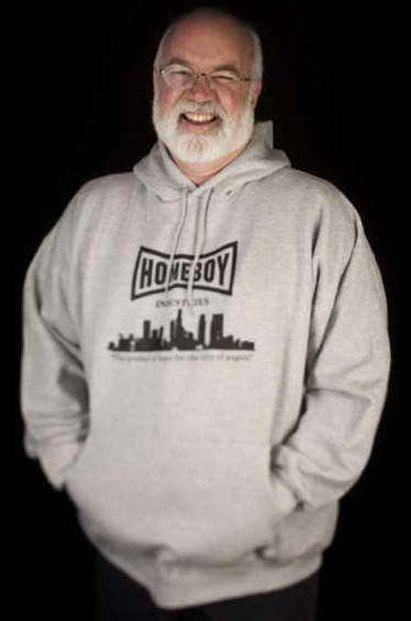 Father Gregory Boyle, founder of Homeboy Industries, has helped thousands of gang members over the years.