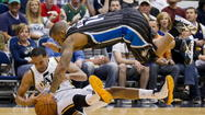 Injury-ravaged Orlando Magic fall to the Utah Jazz in OT