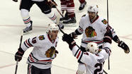 The comebacks keep coming for the never-say-die Blackhawks.