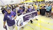 Towson University steps lively to fight cancer at Relay for Life