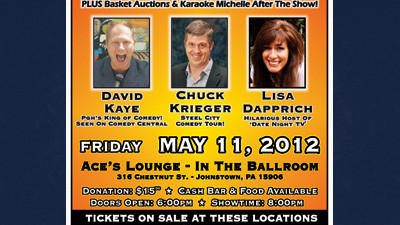 A local animal protection group is combining good times with a worthy cause May 11 at Ace's Lounge in Johnstown.
