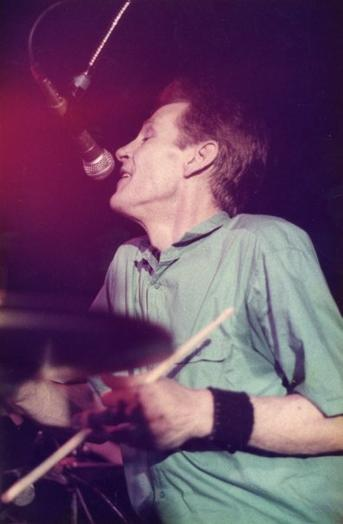 Levon Helm at The Boathouse, Norfolk, Va., May 11, 1984.