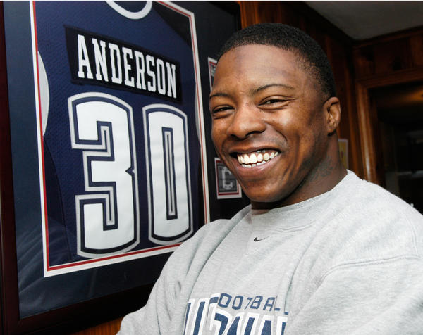 In the 2007 draft, UConn player Deon Anderson was drafted 195th overall in the sixth round by the Dallas Cowboys.