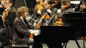 Music review: Gabriel Kahane's score is conducted by his father