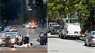 <b>Sliders:</b> Riot scenes, before and after