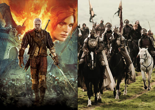 "Could ""The Witcher 2"" steal the ""Game of Thrones"" crown as the rightful king of adult-oriented fantasy? Time for a RedEye duel to the death."