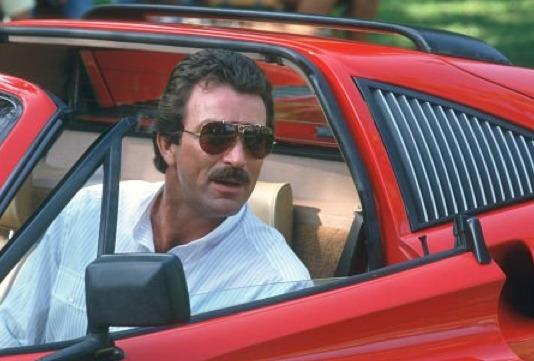Tom Selleck showed everyone that you can't look cool or official without your aviators.