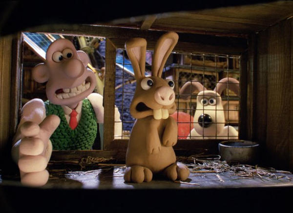 "The only feature-length film of these iconic, Plasticine British characters, ""Wallace and Gromit: The Curse of the Were-Rabbit"" won the Oscar for best animated feature."