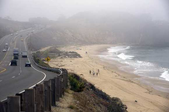 Crystal Cove State Park is among the state parks and beaches facing higher parking pass fees this year. (Nicholas Gingold, Times Community News)