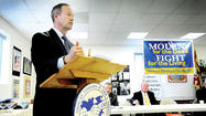 Until Monday, the last time Gov. Martin O'Malley spent so long in Hagerstown was 2008, when the Hub City was Maryland's Capital for a Day.