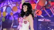 Katy Perry French kisses Annapolis midshipman