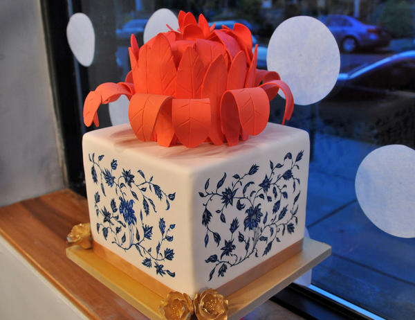 One of Charm City Cake's creations from their summer 2012 collection.
