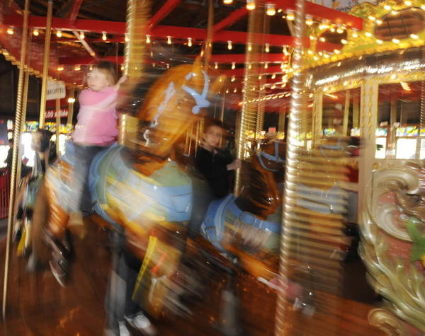The Bushnell Park Carousel in Hartford opens for the season on April 28 at 11 a.m. The carousel, one of less than 200 antique wooden carousels in operation in the country, costs $1 per ride cost, which funds general operations and ongoing refurbishing of the horses on the 98-year-old carousel. Carousel hours are Tuesday through Sunday, from 11 a.m. to 5 p.m. Information: 860-585-5411 or <a href=http://www.thecarouselmuseum.org/>www.thecarouselmuseum.org.</a>