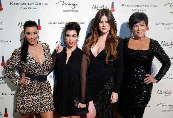 Kim, Kourtney, Khloe Kardashian and Kris Jenner