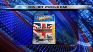 Hot Wheels car honoring Dan Wheldon unveiled