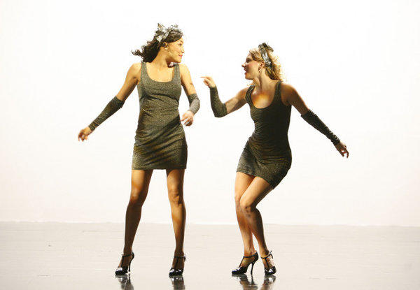 Santana and Brittany want to dance with somebody.