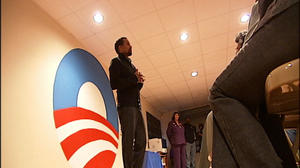 Actor and friend of Obama Hill Harper campaigns in Danville