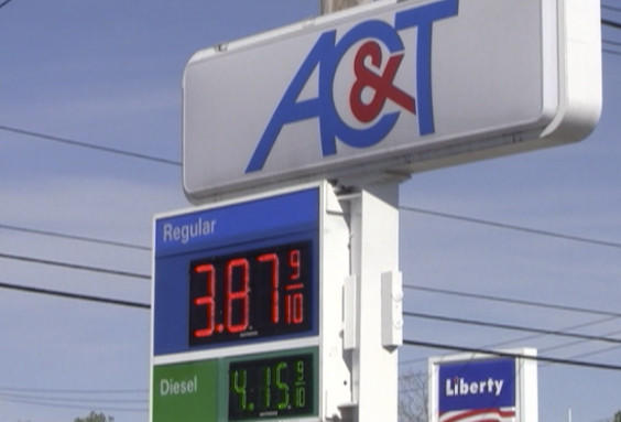 The AC&T Station on Frederick Street in Hagerstown had the cheapest regular-grade gas among the stations visited Tuesday by The Herald-Mail.